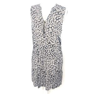 Banana Republic animal print dress Sz L